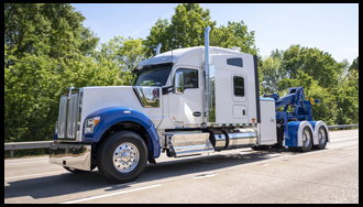 Joey's Towing and Recovery Kenworth W990