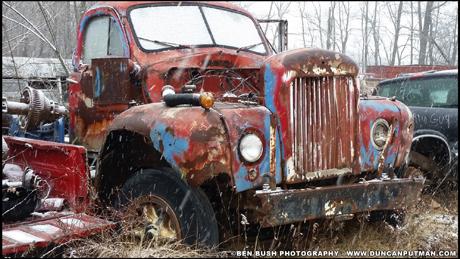 April 2018 End of the Road - A vintage Mack B-Model