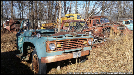 October 2018 End of the Road - The Remnants of a Ford Truck