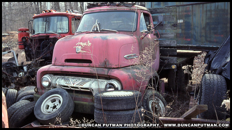 April 2019 End of the Road - 1954 Ford C-600
