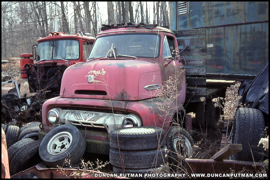 1954 Ford C-600 - Photo by Duncan Putman