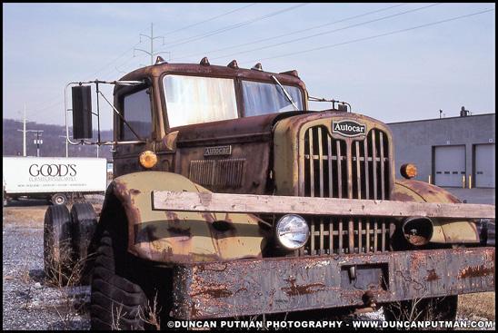 Autocar Truck - Photo by Duncan Putman