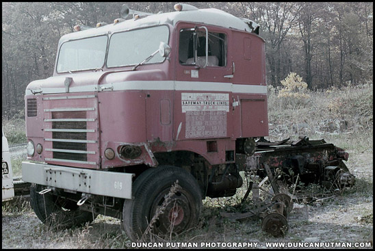 A late 50s Kenworth Bullnose - Photo by Duncan Putman