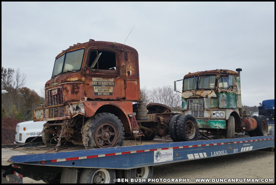 1958 and 1962 Mack H-67 - Photo by Ben Bush