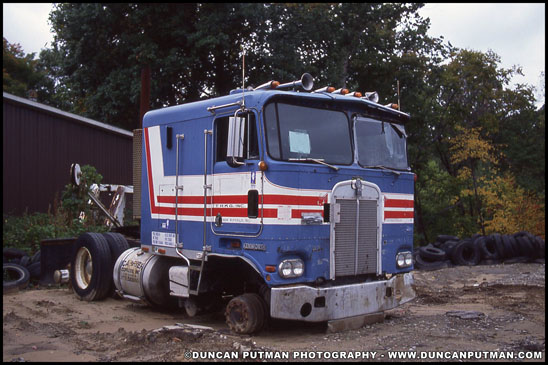 A classic Kenworth K100 - Photo by Duncan Putman