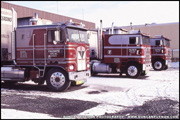 Kenworth and Marmon Cabovers - Photo by Duncan Putman