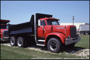 Hendrickson Dump Truck - Photo by Duncan Putman