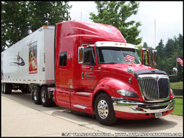 A/T Transportation International Prostar tractor-trailer
