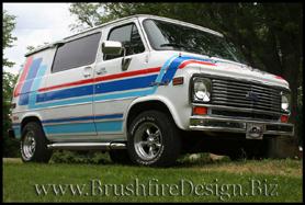 Brushfire Design 1995 Chevrolet Cargo Van