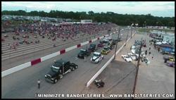 Minimizer Bandit Big Rig Racing Series Trucks in Action!