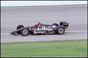 AJ Foyt in his Lola/Chevrolet during qualifying for the 1991 Indianapolis 500