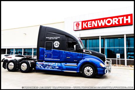 April 2019 Industry Spotlight - Truckers Against Trafficking Everyday Heros 2019 Kenworth T680