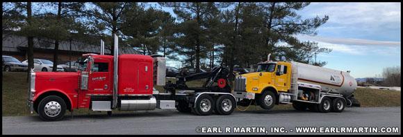 ERM, Inc. 2007 Peterbilt model 379 with Detachable Towing Unit (DTU)