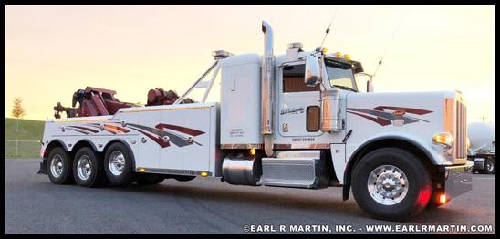 ERM, Inc. 2014 Peterbilt model 388 tow truck