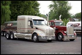 ERM, Inc. Peterbilt trucks