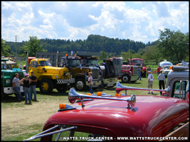 Macks on display at the Watts Truck Show