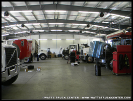 Watts Truck Center Service Garage
