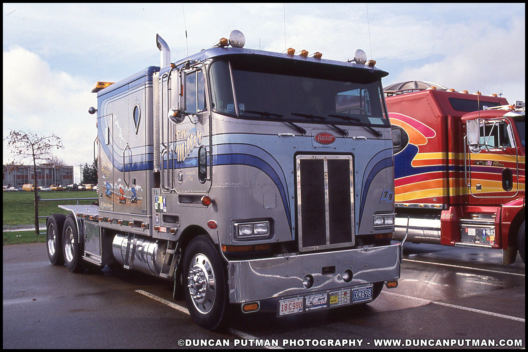DuncanPutman com Photo of the Week - Peterbilt 362 Cabover