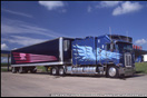 Kenworth K100 Aerodyne with Custom Sleeper