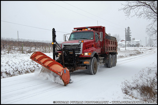 Sterling L Series Plow Truck - Photo by Duncan Putman