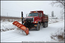 Sterling Dump Truck Snow Plow