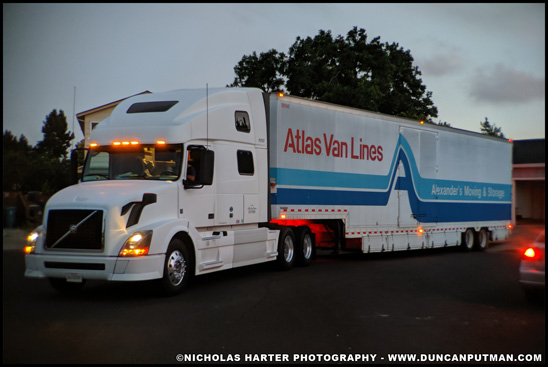 2012 Volvo VNL of Atlas Van Lines - Photo by Nicholas Harter