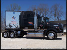 Tim Begle's 2007 Western Star 4900SA and Stainless Steel Great Dane