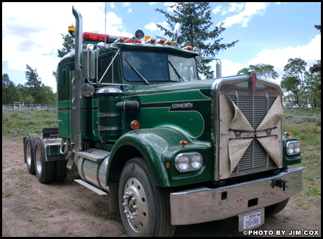 December 2018 Truck of the Month - Jim Cox's 1976 Kenworth W900A