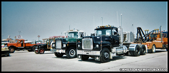 Trent Blasco's 1977 Mack RS700L in Walcott in 2005