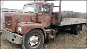 Brandon Flynn's 1969 Brockway N358T