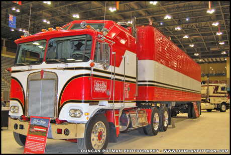 January 2019 Truck of the Month - Paul Sagehorn's 1980 Kenworth K100C Aerodyne from BJ and the Bear