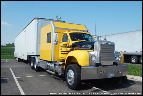 July 2019 Truck of the Month - Tim Hoover's 1964 Mack B-75