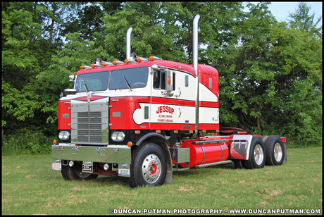 June 2019 Truck of the Month - Jessup Trucking's 1955 Kenworth 523C Bullnose