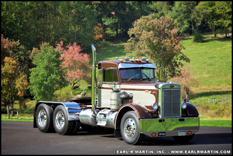 May 2019 Truck of the Month - Earl R Martin's 1965 Peterbilt model 351A
