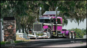 Ronnie Adams' 1986 Peterbilt model 359