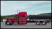 Denver Truck Painting's 2013 Peterbilt model 389