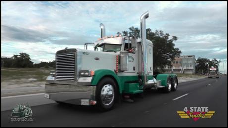 Webster Trucking's 2007 Peterbilt model 379