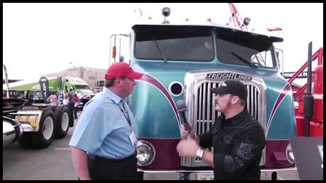 Classic Freightliner Trucks at MATS 2012