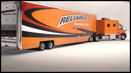 Reliable Carriers, Inc. Packing Peanuts TV Commercial