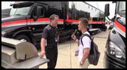 Interview with Team Penske truck driver David Humphrey